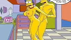 Bart and Marge