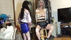Ronni BELTED to Stef's Special Chair (Front view)--10-21-19