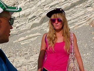 Nudist beach fucking videos The travel blogger and kinky nudist girl fuck on the beach