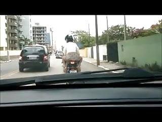 Moto guzzi vintage / norge Safada de moto sem calcinha