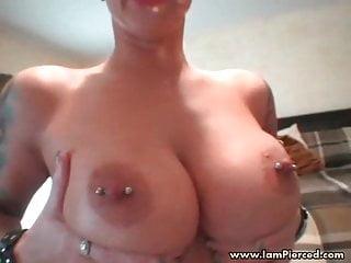 Mature women pierced nipples nude Featured Pierced Nipples Porn Videos Xhamster
