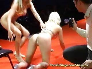 Lesbian nudists srx Cute lesbian sex on public stage