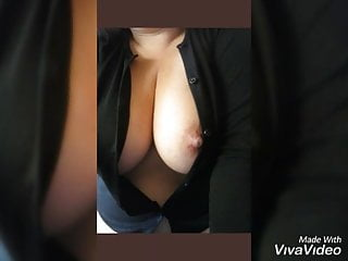 Amateur big dildo pic - Compilation of my tits pics with more comments.