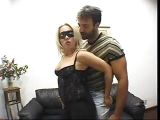 Gay husband watching Husband watching his mask wife fucked by a horny man