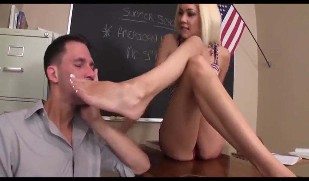 Japanese Teacher Feet Worship