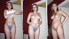 Dressed Undressed Pregnant Girls