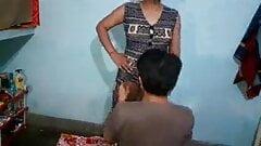 Bhabhi with dever