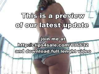Sandy cheek nude Monabell nude ass cheeks on balcony