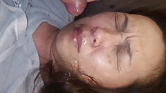I cum in my wife's face