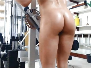 Nude workout clips for free Nude workout with vibrator 2 of 5
