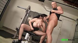 Big tits big ass Beverly fucks big dick personal trainer
