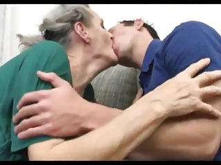 Naked grey haired women Grey haired granny fucks young boy
