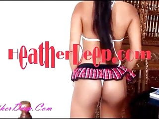 Heather i deep throat new video - Heather deep eats cum after masterbation