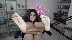 Feet video 22