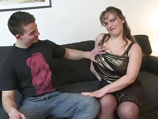 Sexy mature granny porn Young son fucks sexy mature busty not his mom