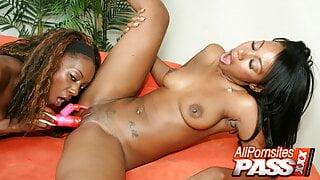 Dildo Fucking Black Babes Rayne And Erika Vution