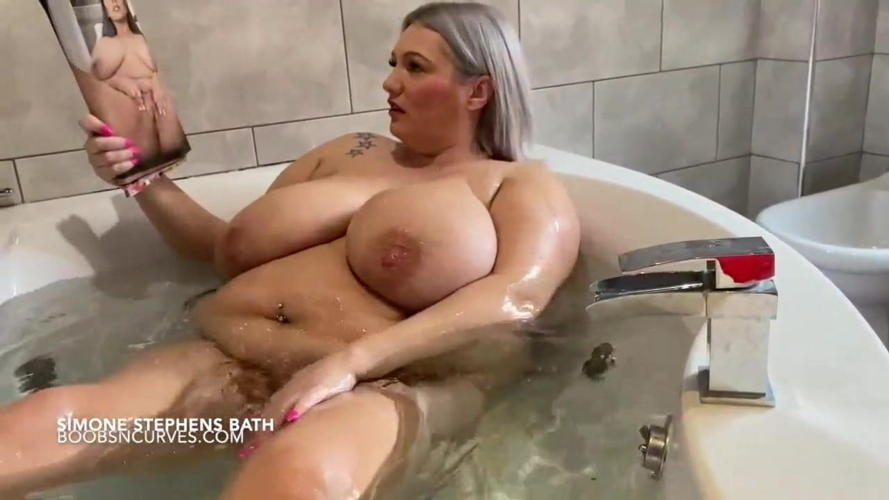 simone stephens boob