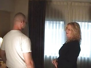 Banged milf up - Milf ties up and bangs younger guy