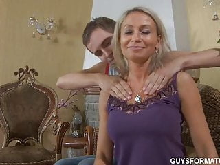 Sexy aunt nephew video Nephew after massage fucked his aunt