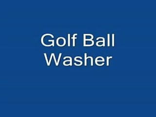 Vintage golf balls - Golf ball washer