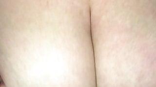 Cumming on tits
