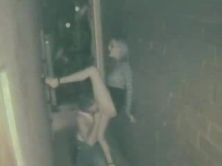 Prostitue tranny fucking in alley Amateurs fuck in alley outside of club
