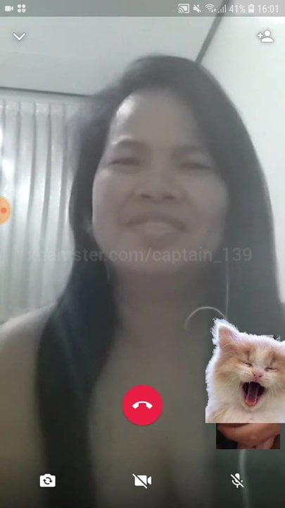 MOBILE FUN 35 - Thai mom watches handjob and shows body on CAM