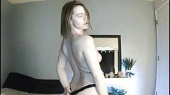 Elisha Mae Early Morning Topless Teasing