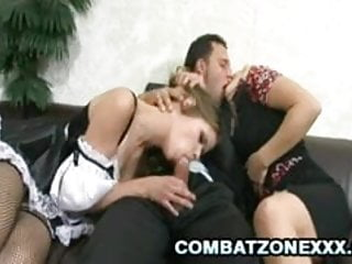 Three way drunk sex Two euros jenny noel and lea lexis enjoys three-way sex