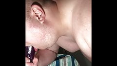 Deep throat dildo