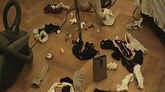 vacuuming panties