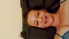 Friend's wife filming herself masturbating once again
