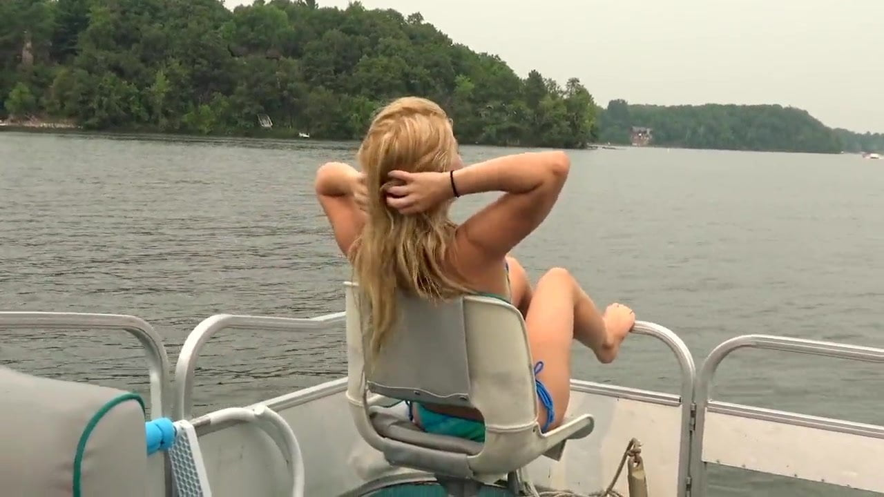 Blonde Step Sister Boat