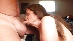 cant help my self i love sucking off my mans cock