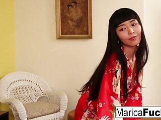 Bbc life as geisha Geisha marica takes a bbc and a giant load