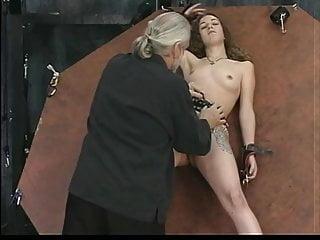 Jamie len spears nude - Bound brunette spreads her pussy for master len