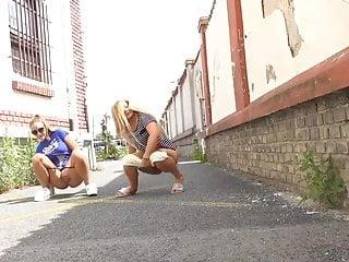 Girls pee boxers Girls pee