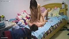 IP CAM Asian Couple Has Sex