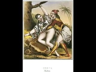 Greatest erotic art of 19th century Erotic art