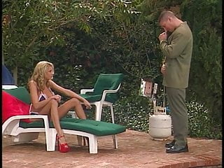 Propelled by cock Briana banks gets her large tits fucked by cock before hard anal fuck