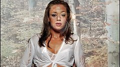 Leah Remini Jerk Off Compilation