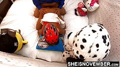From Behind Hot Young Ebony Babe Fucked By Best Friend Doggy