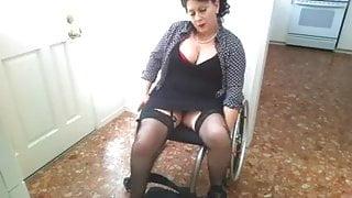 Paraplegic in wheelchair sexy porn