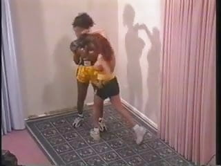 Fifi box naked - Naked interracial boxing requested slow-mo