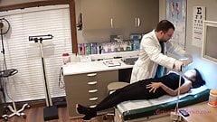 Latina Strips Down 4 Mandatory Medical Exam By Doctor Tampa