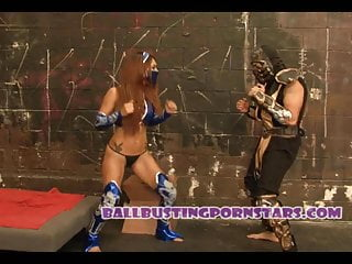 Sexy mortal kombat pictures Mortal kombat cosplay sex and ballbusting with crystal lopez
