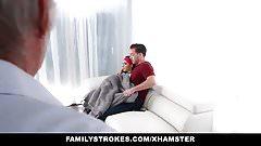 FamilyStrokes - почти застукали за трахом с ее сводным братом от папы