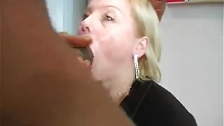 Big Black Cock in anal gangbang with amateur babe Donna