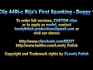 Homemade porno videos for sale Clip 44ri-b rijas first spanking - doggy 1 - mc - sale: 9