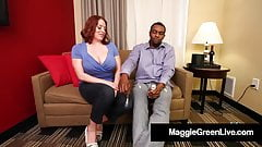 Busty Babe Maggie Green Gets Wrecked By Big Dick Rome Major!